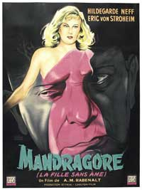 Alraune - 27 x 40 Movie Poster - French Style A