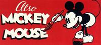Also Mickey Mouse - 11 x 17 Movie Poster - Style A