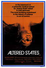 Altered States - 27 x 40 Movie Poster - Style B