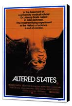 Altered States - 27 x 40 Movie Poster - Style B - Museum Wrapped Canvas