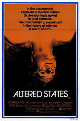 Altered States - 11 x 17 Movie Poster - Style B