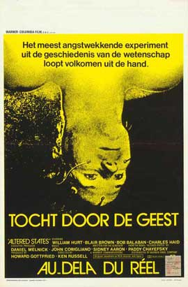 Altered States - 11 x 17 Movie Poster - Belgian Style A