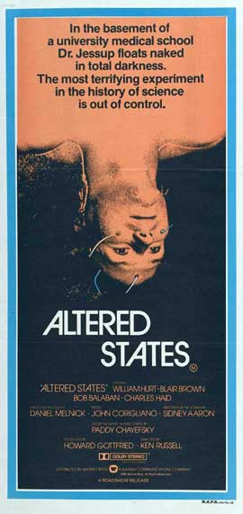 Altered States - 14 x 36 Movie Poster - Insert Style A