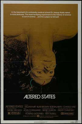 Altered States - 11 x 17 Movie Poster - Style D