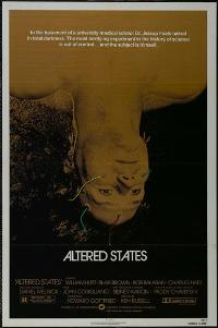 Altered States - 43 x 62 Movie Poster - Bus Shelter Style B