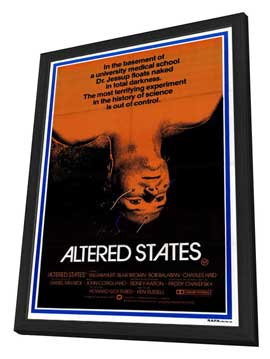 Altered States - 27 x 40 Movie Poster - Style B - in Deluxe Wood Frame
