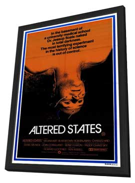 Altered States - 11 x 17 Movie Poster - Style B - in Deluxe Wood Frame