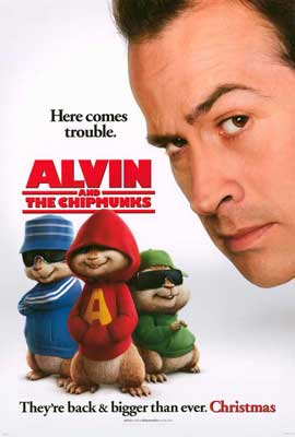 Alvin and the Chipmunks - 27 x 40 Movie Poster - Style A
