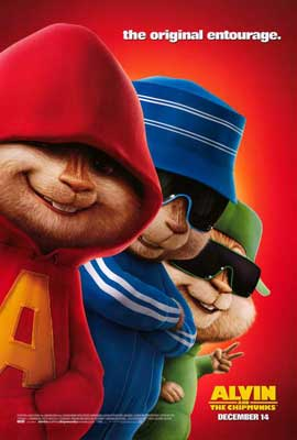 Alvin and the Chipmunks - 27 x 40 Movie Poster - Style B