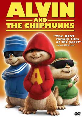Alvin and the Chipmunks - 27 x 40 Movie Poster - Style G