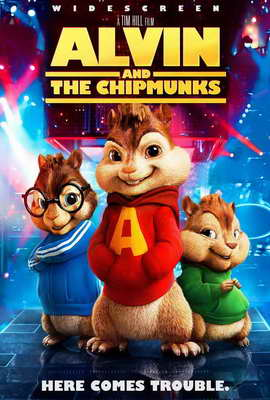 Alvin and the Chipmunks - 27 x 40 Movie Poster - Style E