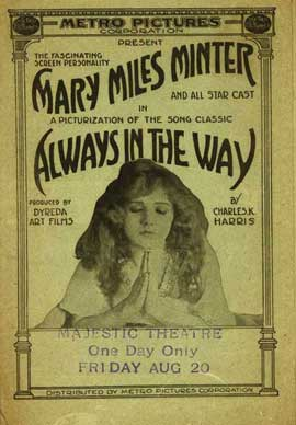 Always in the Way - 27 x 40 Movie Poster - Style A