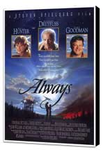 Always - 27 x 40 Movie Poster - Style A - Museum Wrapped Canvas