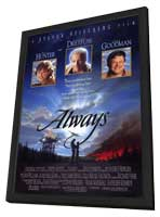 Always - 11 x 17 Movie Poster - Style A - in Deluxe Wood Frame