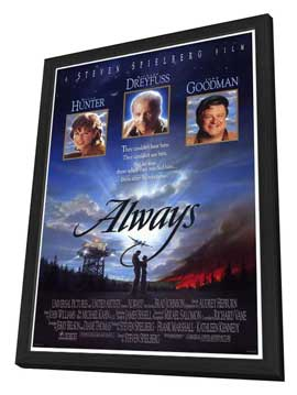 Always - 27 x 40 Movie Poster - Style A - in Deluxe Wood Frame