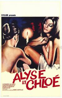 Alyse and Chloe - 27 x 40 Movie Poster - Belgian Style A