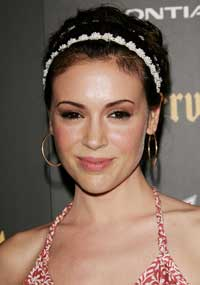 Alyssa Milano - 8 x 10 Color Photo #5