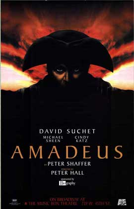 Amadeus (Broadway) - 27 x 40 Poster - Style A