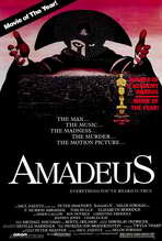 Amadeus - 27 x 40 Movie Poster - Style B