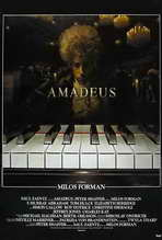Amadeus - 27 x 40 Movie Poster - French Style A