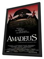 Amadeus - 11 x 17 Movie Poster - Style C - in Deluxe Wood Frame