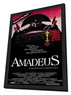 Amadeus - 27 x 40 Movie Poster - Style B - in Deluxe Wood Frame