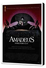 Amadeus - 27 x 40 Movie Poster - Style A - Museum Wrapped Canvas