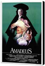 Amadeus - 27 x 40 Movie Poster - Style E - Museum Wrapped Canvas
