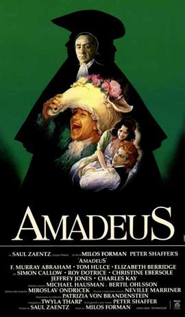 Amadeus - 11 x 17 Poster - Foreign - Style A