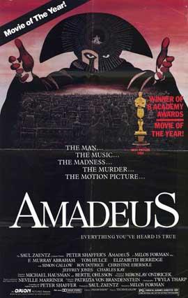Amadeus - 11 x 17 Movie Poster - Style B