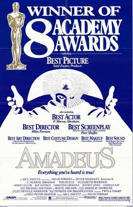 Amadeus - 11 x 17 Movie Poster - Style D