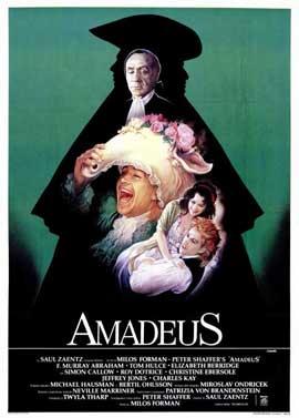 Amadeus - 11 x 17 Movie Poster - Italian Style A