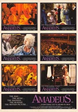 Amadeus - 11 x 17 Movie Poster - Style E