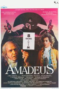 Amadeus - 11 x 17 Movie Poster - Belgian Style A