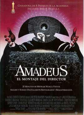 Amadeus - 11 x 17 Movie Poster - Spanish Style B