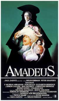 Amadeus - 11 x 17 Movie Poster - Italian Style B
