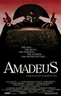 Amadeus - 11 x 17 Movie Poster - Style C - Museum Wrapped Canvas