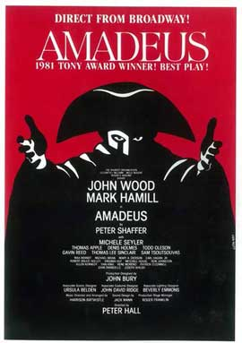 Amadeus - 14 x 22 Poster - Style A