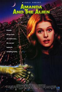 Amanda and the Alien - 11 x 17 Movie Poster - Style A