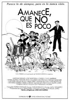 Amanece, Que no es Poco - 27 x 40 Movie Poster - Spanish Style A