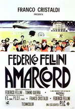 Amarcord - 11 x 17 Movie Poster - Style E