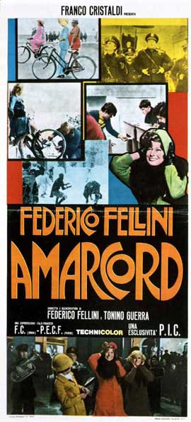 Amarcord - 11 x 17 Movie Poster - Style C