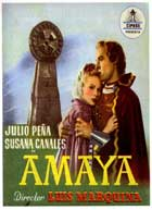 Amaya - 11 x 17 Movie Poster - Spanish Style B