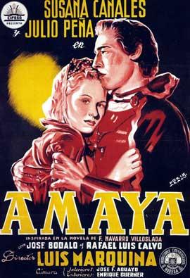 Amaya - 11 x 17 Movie Poster - Spanish Style A