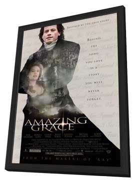 Amazing Grace - 11 x 17 Movie Poster - Style A - in Deluxe Wood Frame