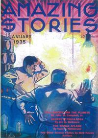 Amazing Stories (Pulp) - 11 x 17 Pulp Poster - Style A