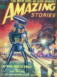 Amazing Stories (Pulp) - 11 x 17 Pulp Poster - Style B