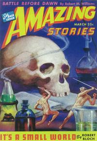 Amazing Stories (Pulp) - 11 x 17 Pulp Poster - Style J