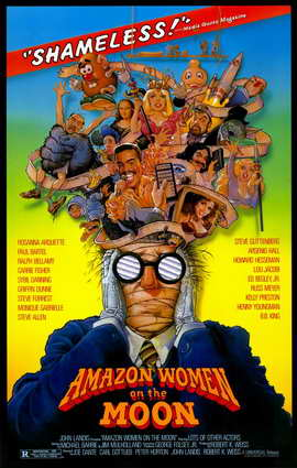 Amazon Women on the Moon - 11 x 17 Movie Poster - Style A