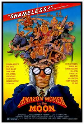 Amazon Women on the Moon - 27 x 40 Movie Poster - Style A